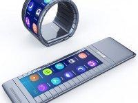 Slap bracelet phones: a reality