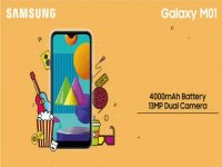 Samsung Galaxy M01 launched with a 5.7-inch display and SDM 435 SoC