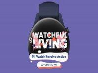 Xiaomi will unveil Mi Watch Revolve Active on June 22