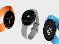 Google Pixel Watch renders reveal circular dial