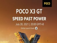 Xiaomi Poco X3 GT will be unveiled on July 28